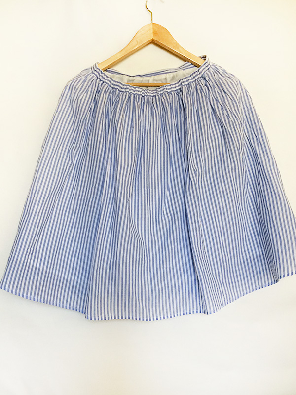 Honeys-stripe-skirt-back