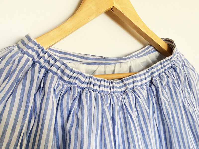 Honeys-stripe-skirt-detail