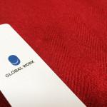 【お買い物】 GLOBAL WORK(グローバルワーク) アソートBIGストール(レッド)