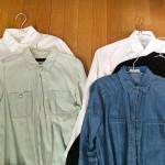 受けの断捨離17(羽織りもの・シャツ)