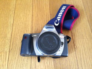 受けの断捨離 カメラ