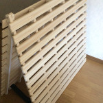 【レビュー】湿気・カビ対策に 二つ折りたたみ桐すのこベッド(マット)