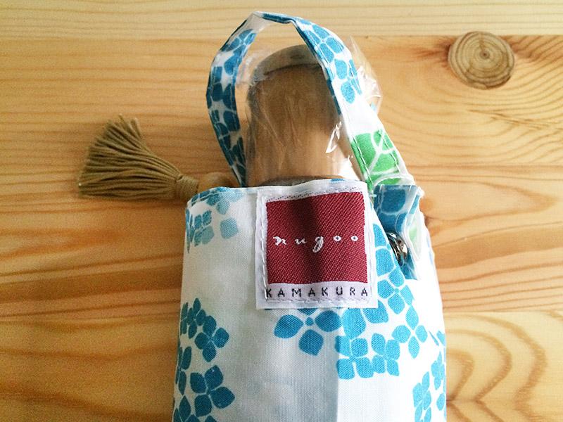 傘カバーのタグ