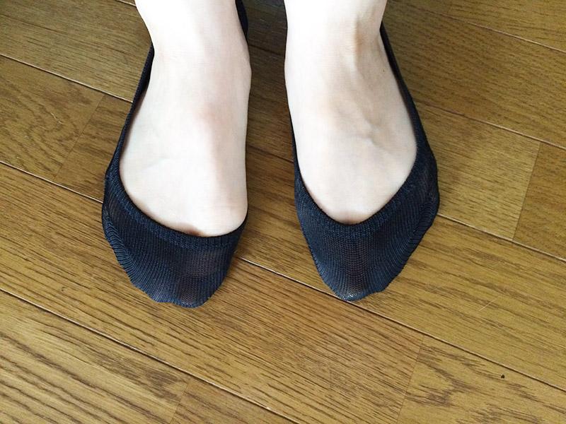 【レビュー】無印良品 つま先ワイド 脱げにくいフットカバー(婦人・えらべる) 23~25cm・黒