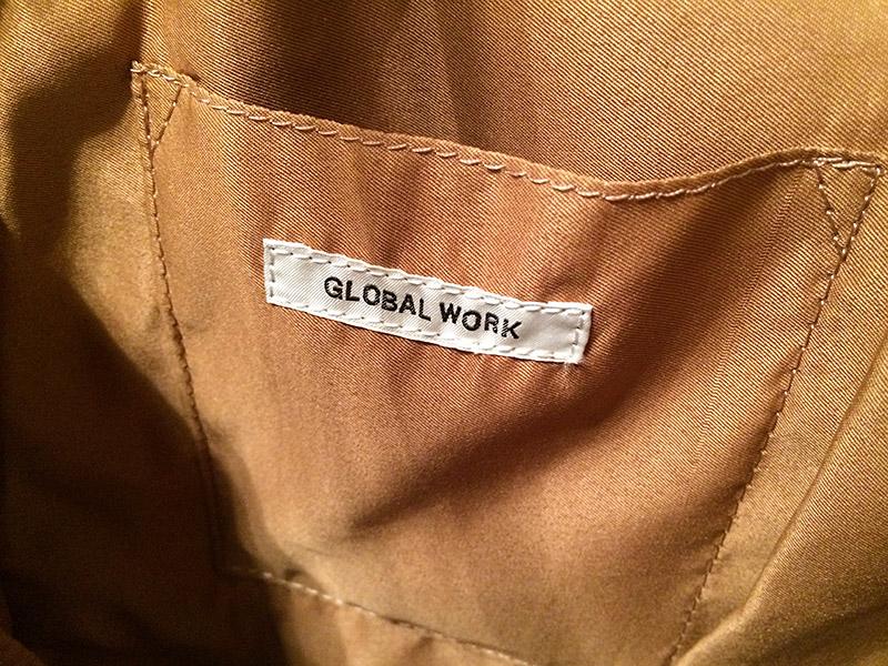 【レビュー】秋支度 GLOBAL WORK(グローバルワーク) 2WAYリュック