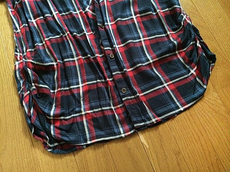 【レビュー・秋支度】しまむら ゆるシルエット・チェックシャツ
