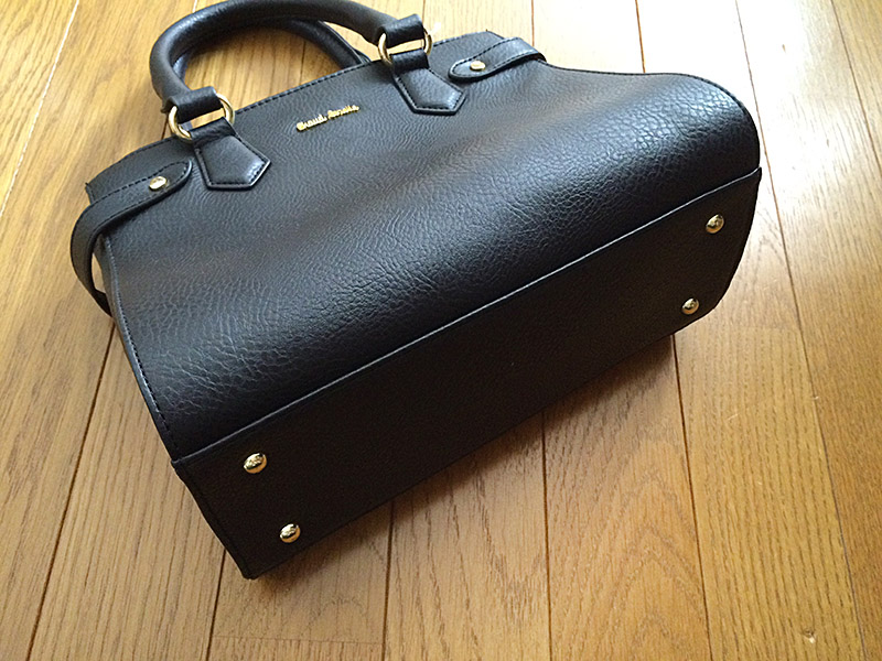 しまむら2WAYハンドバッグ:バッグの底