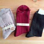 【お買い物】tutuannna(チュチュアンナ)秋色靴下