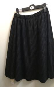 SEIYU(西友)リバーシブルスカート ストライプ