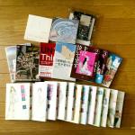 受けの断捨離43(本・CD・DVD)買い取り査定結果の金額