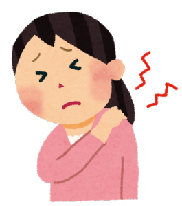 気管支炎で肩こりに