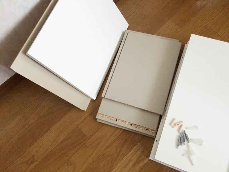 受けの断捨離56(IKEAのチェスト)