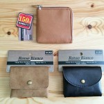 お財布のミニマム化。ダイソーのL字型財布と小銭入れを買いました。