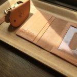 革(レザー)小物 日光浴・日焼け・色+経年変化の観察記録(IL BISONTE ・イル ビゾンテ)