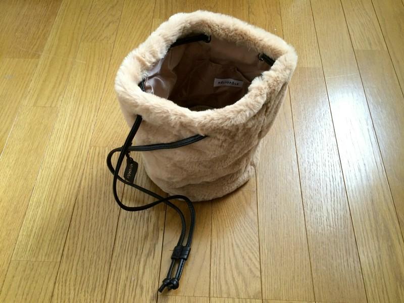 【雑誌付録・感想】 リンネル(エリオポール・大人かわいい極上ふわふわファーバッグ)